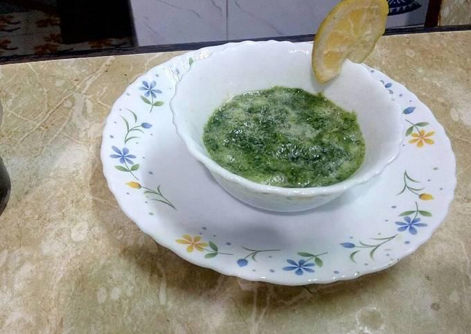 Recipe of Homemade Coriander chutney with musambi