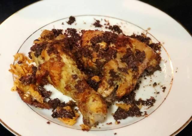 Ayam Goreng Padang (Ayam goreng telor)