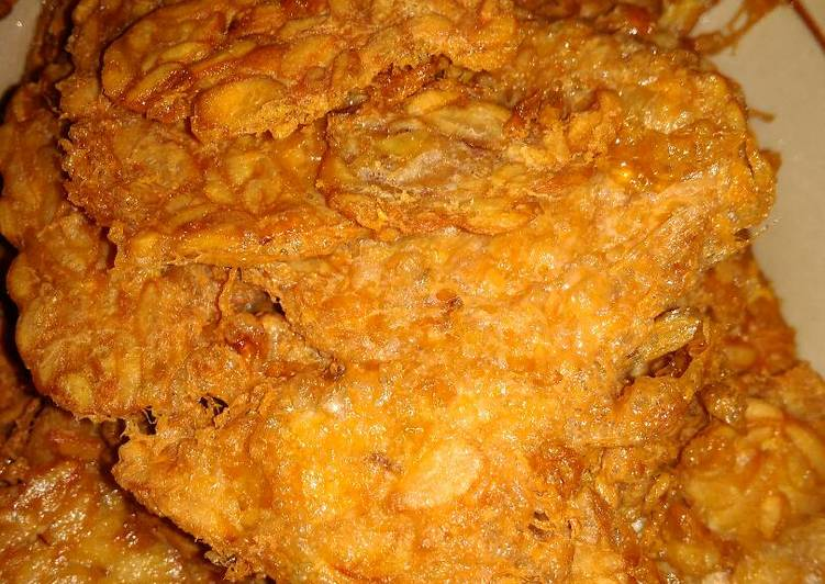 Resep Tempe goreng crispy, Lezat Sekali