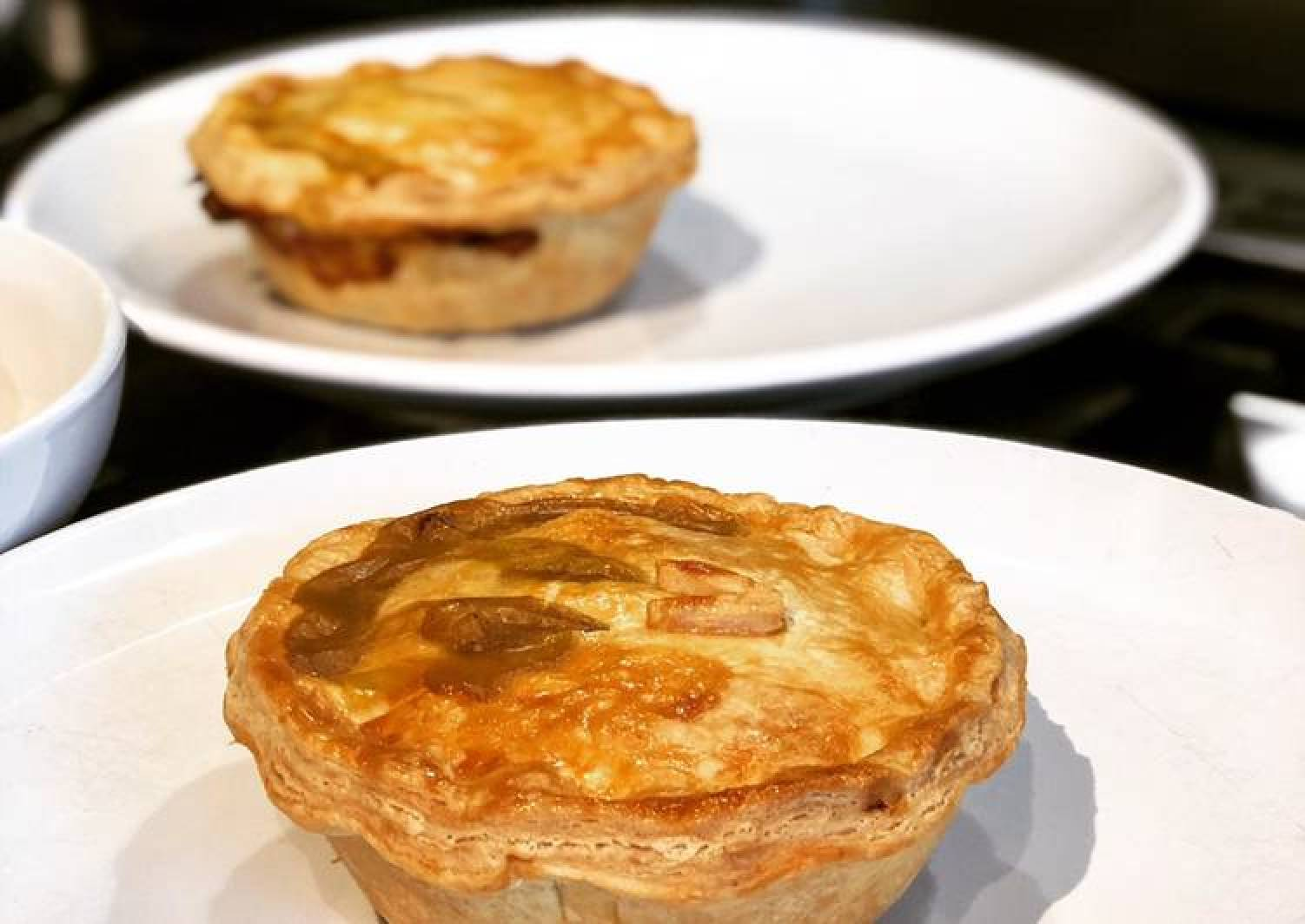 Vegetarian Curry Pies