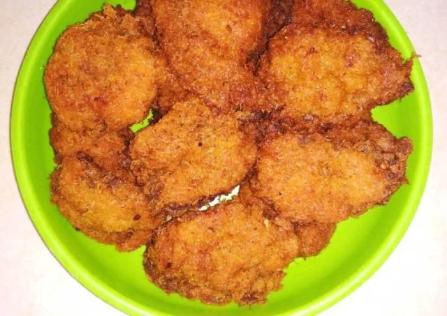 Dendeng Ragi Goreng (daging sapi)