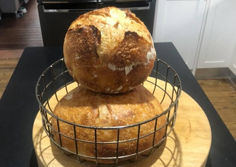 24 hour sour dough so easy