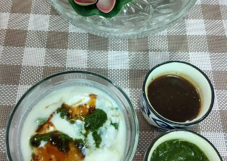 Instant dahi bhalla