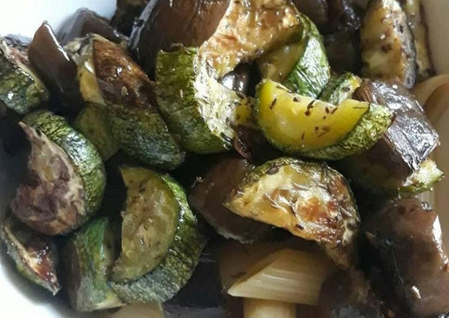 Sauteed Zucchini and Eggplant