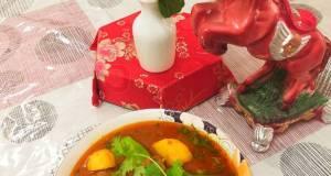 Authentic simple and easy Aloo gosht salan /mutton potato salan