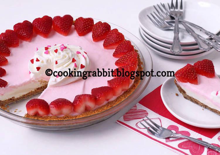 Sweetheart pink pie