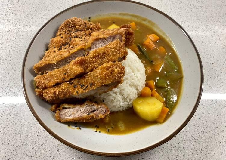 Recipe of Speedy Tonkatsu or Katsu Curry