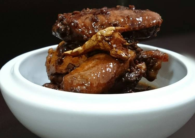 Dark Caramelized Ginger Chicken