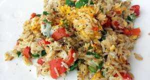 Egg And Bell Pepper Fried Rice
