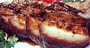 Kanyas Braise Pork Belly with ginger and 5 spices