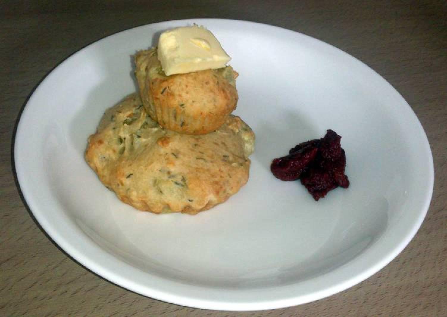 Potato and Cheese Muffins