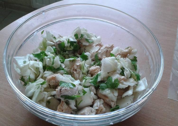 Torys diet Cabbage with chicken