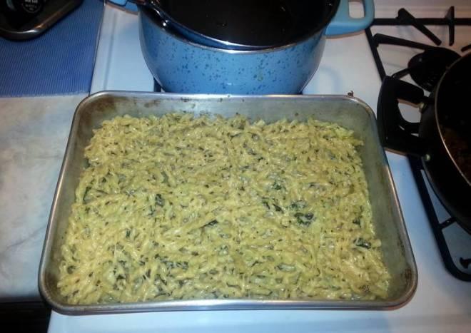 Pesto Alfredo Mac & Cheese (food network magazine recipe)