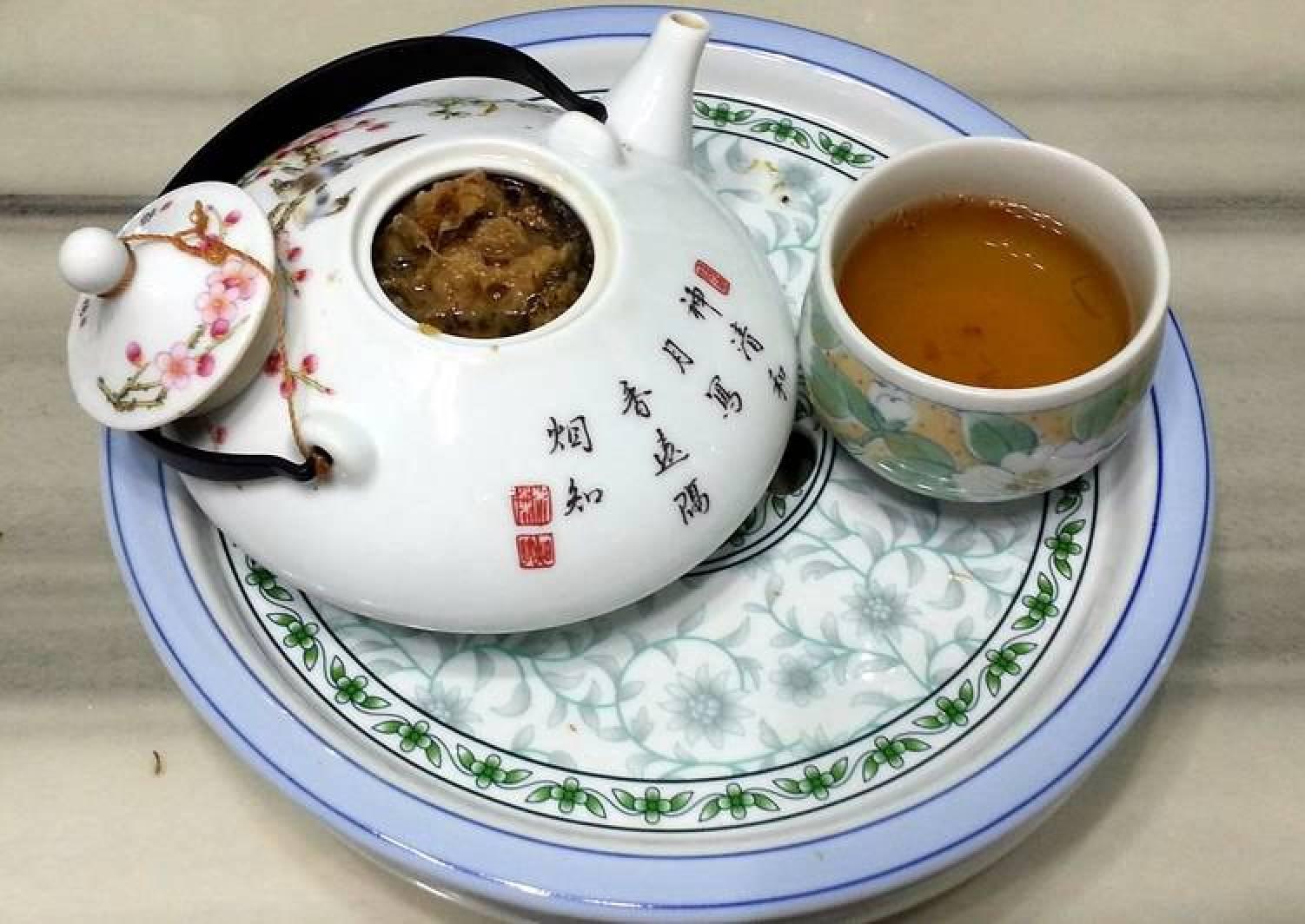American Ginseng With Chrysanthemum Tea