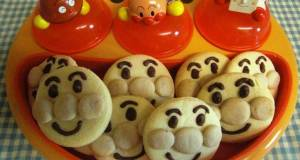 Egg Allergy Safe Anpanman Cookies