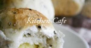 Black Sesame Sweet Potato Paste Bread
