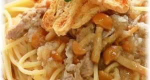 Pork and Grated Daikon Radish Pasta