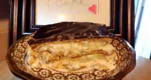 Homemade eclair cake inspired by cooks country