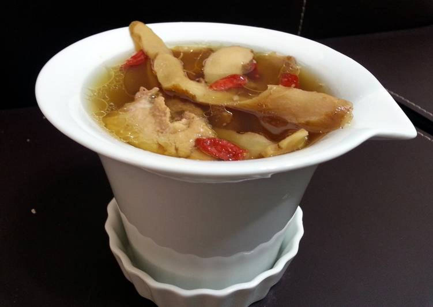 Chicken Soup With Three Herbs