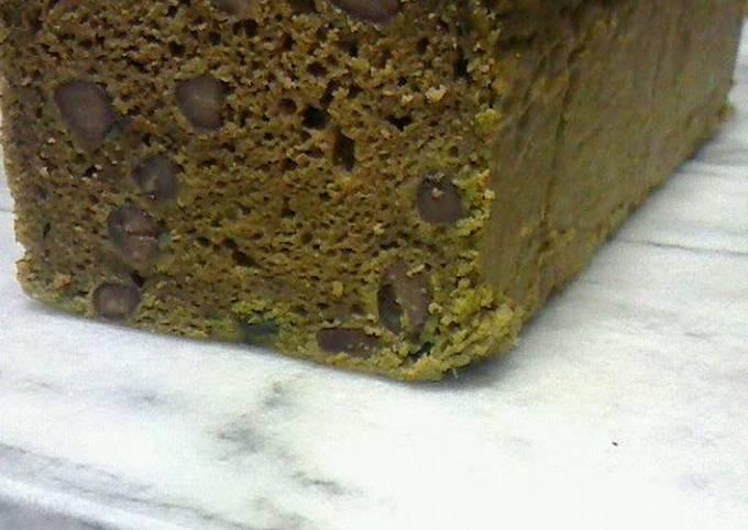 Wheat, Egg, and Dairy-Free Matcha Pound Cake