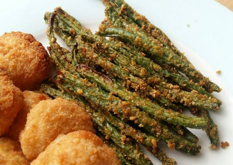 Vickys Omega-3 Baked Green Beans, GF DF EF SF NF