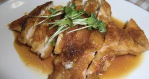 Fried Chicken Breast in Ginger Pork Style