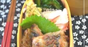 Mackerel Tatsuta-yaki in a Spirit of Japan Bento