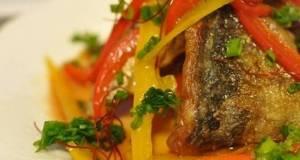 Horse Mackerel in Nanban Sauce