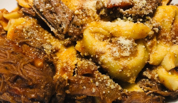 Tortellini with Shredded Beef 🥩