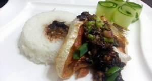 Salmon With Garlic Black Bean Sauce