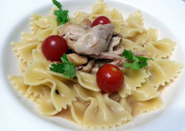 Chicken And Farfella Pasta
