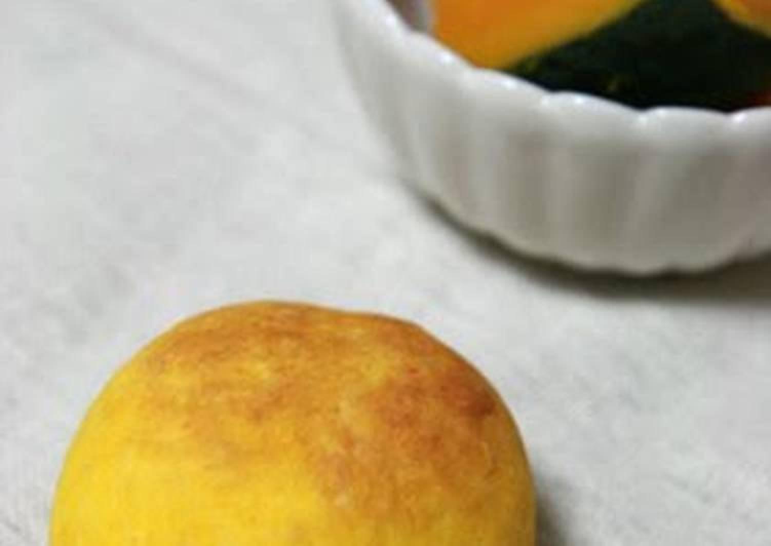 Kabocha Squash Scones Made with Pancake Mix