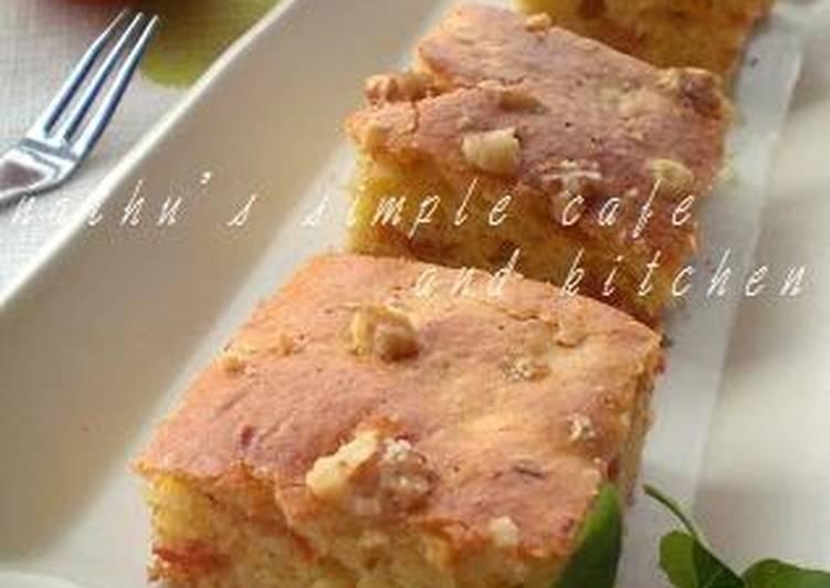 Fall-Colored Persimmon Cake
