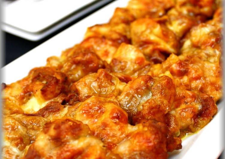 Tandoori-style Baked Chicken Breast with Melted Cheese