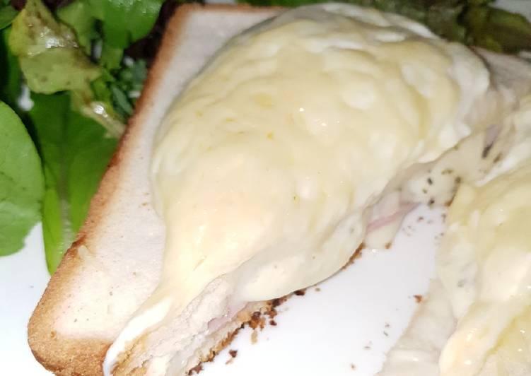 Croque monsieur fromagé