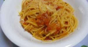 Simple and Delicious Tomato Spaghetti