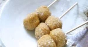 Tiny Kinako Roasted Soy Powder Dumplings