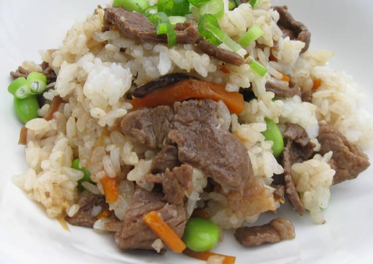 Beef Mazegohan