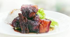Drunken Pork In Brandy and Dark Soy Sauce Stew