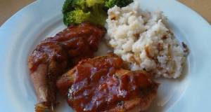 Vickys Devilled Pheasant with Onion Rice GF DF EF SF NF
