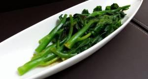 Chinese Brocoli With Wasabi Sauce