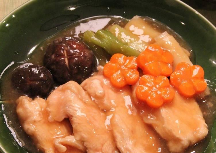 Tender Chicken Breast Jibuni