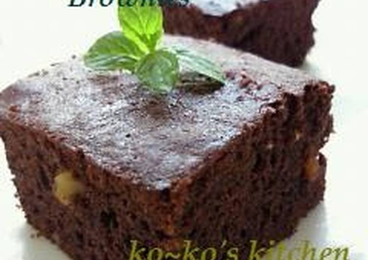 Extravagant Brownies with Lots of Chocolate