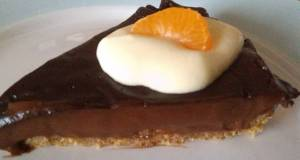 Vickys Chilli or not Chocolate Pudding Pie GF DF EF SF NF