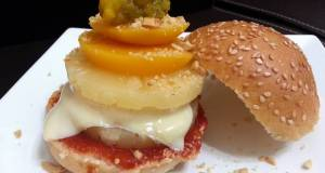 Pineapple And Peach Burger