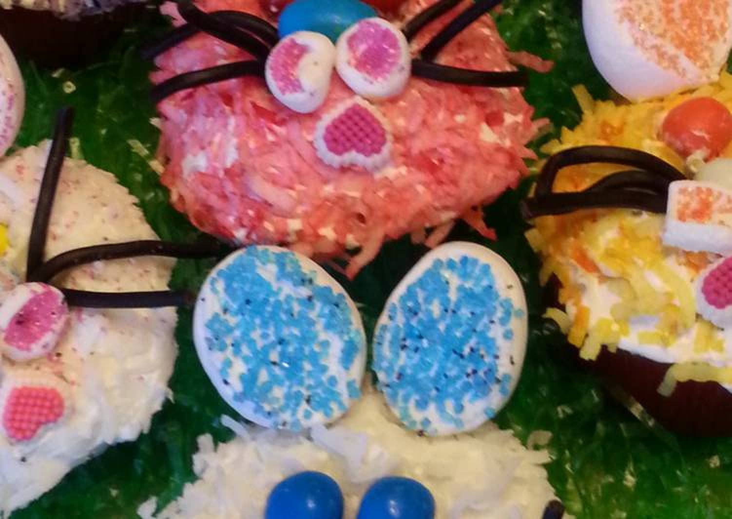 Cute - As -A Bunny Cupcake