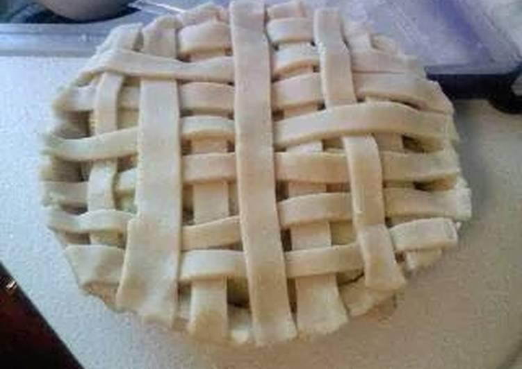 Easy pie crust , makes 2