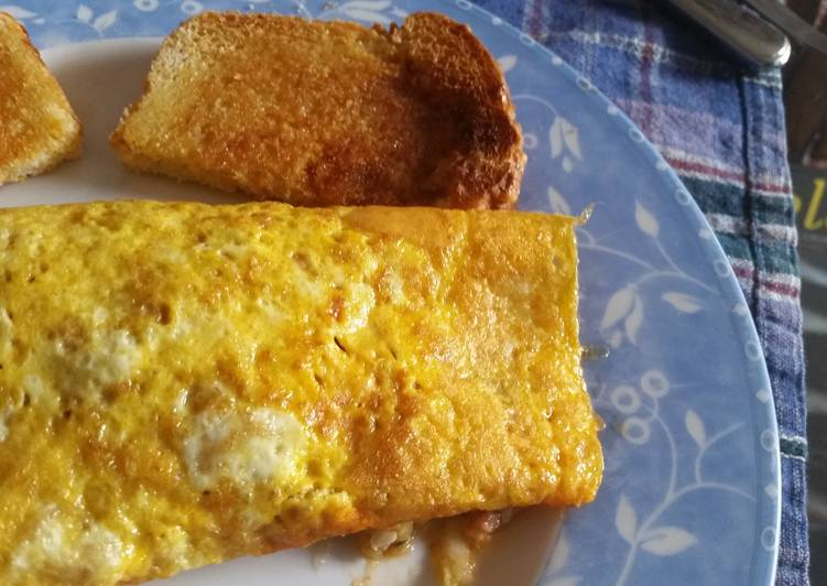 Kauaiman's Super Hot and Spicy Omellete