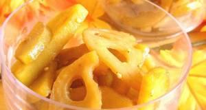 Sweet Potatoes and Lotus Root Saut