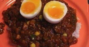 Tomato Keema Curry Using Store-bought Curry Roux